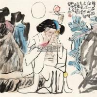 琵琶情 软片 - 郭全忠 - 中国书画 - 2011年春季艺术品拍卖会 -收藏网