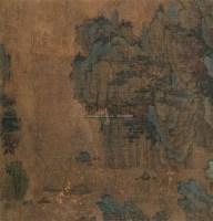 东坡赤壁图 镜片 设色绢本 -  - 中国书画 - 2010秋季艺术品拍卖会 -收藏网