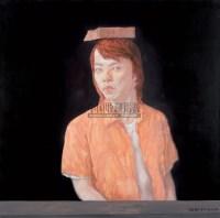 一块板砖 布面 油画 - 彭斯 - 油画专场 - 2008春季艺术品拍卖会 -收藏网