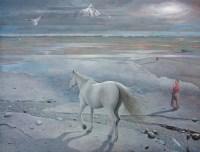 影子 -  - 中国油画 - 2008春季中国油画拍卖会 -收藏网
