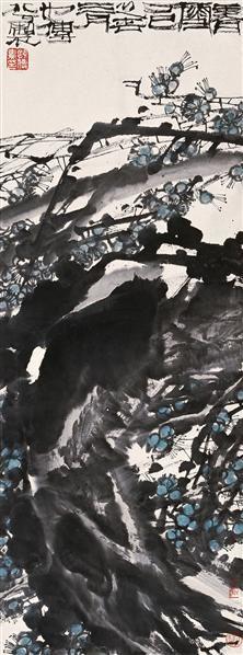1舒传曦 977年作 香雪 镜心 设色纸本 - 20945 - 中国书画(一) - 2006秋季艺术品拍卖会 -收藏网