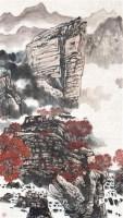 山水 镜心 设色纸本 - 126267 - 中国书画(一)当代专场 - 2011秋季艺术品拍卖会书画专场 -收藏网