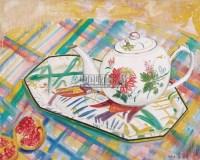 章剑 静物 布面油画 - 章剑 - 中国油画 - 2006秋季艺术品拍卖会 -收藏网