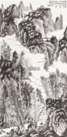 山水 立轴 设色纸本 - 6176 - 中国书画(二) - 2011秋季艺术品拍卖会 -收藏网