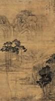 雨过看松图 立轴 设色绢本 - 盛茂烨 - 中国古代书画 - 2007年秋季大型艺术品拍卖会 -收藏网
