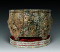 玉雕八鹿纹葵口四足炉 -  - 瓷玉珍玩·古籍善本 - 第18期艺术精品拍卖会 -收藏网