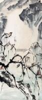 """花鸟 立轴 纸本 - 5001 - 近现代书画专场 - """"金秋摭萃""""书画精品拍卖会 -收藏网"""