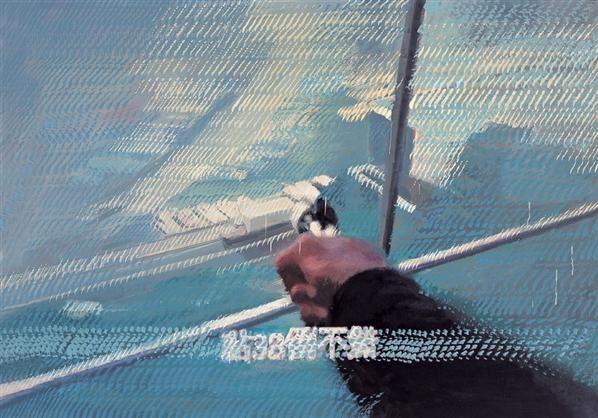 点38 布面油画 - 156672 - 中国当代艺术 - 大海航行—中国当代艺术秋季拍卖会 -收藏网