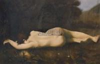 裸女 布面油画 - 140048 - 老油画·中国书画·新钢笔画 - 2011春季艺术品拍卖会 -收藏网
