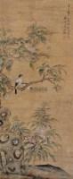 花鸟 轴 - 116874 - 书画 油画 杂项 - 2009欢乐节艺术品拍卖会 -收藏网