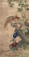 花鸟 立轴 设色纸本 - 139903 - 中国书画专场 - 2008第三季艺术品拍卖会 -收藏网