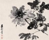 水墨花卉 立轴 水墨纸本 - 139818 - 中国书画(二) - 2006年秋季艺术品拍卖会 -收藏网