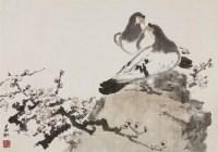 春讯 镜心 设色纸本 - 116126 - 中国书画 - 2008秋季艺术品拍卖会 -中国收藏网
