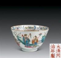 黄地绿龙纹盖碗 (一对) -  - 珍瓷雅玩 - 2007春季艺术品拍卖会 -中国收藏网