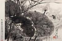 唐云 荷花 立轴 - 唐云 - 中国书画专场 - 2007年仲夏拍卖会 -收藏网
