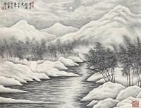 山水 立轴 - 135766 - 中国书画 - 2011秋季艺术品拍卖会 -收藏网