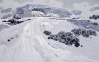 仙女山·雪6 布面 油彩 - 翁凯旋 - 中国油画及雕塑 - 2008秋季拍卖会 -收藏网