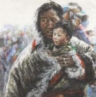 人物 带框 纸本 - 4539 - 保真作品专题 - 2011春季书画拍卖会 -收藏网