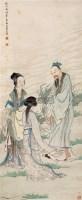 人物 立轴 设色纸本 - 黄山寿 - 中国近现代书画 - 2006秋季艺术品拍卖会 -中国收藏网