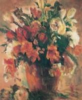 张自正 1996年作 花卉 布上油彩 - 张自正 - 西洋美术 - 2006秋季大型艺术品拍卖会 -收藏网