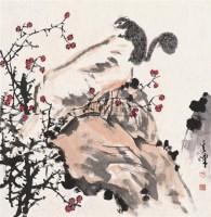 松鼠 镜心 纸本水墨 - 孙奇峰 - 中国书画 - 2006春季拍卖会 -收藏网