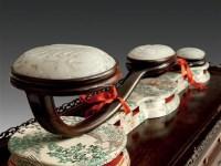 白玉佛手柑纹三镶如意摆件 -  - 古董珍玩 - 2012艺术品拍卖会 -收藏网