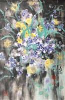 花卉 镜片 设色纸本 - 6234 - 中国书画一 - 2011秋季书画专场拍卖会 -收藏网