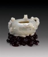 青白玉双龙洗 -  - 玉器专场 - 2009仲夏拍卖会 -收藏网