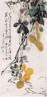 葫芦 立轴 设色纸本 - 颜梅华 - 中国书画 - 2007春季拍卖会 -收藏网
