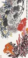 花卉 立轴 设色纸本 - 116612 - 中国书画二 - 2011春季艺术品拍卖会 -收藏网