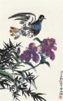 花鸟图 立轴 设色纸本 - 116015 - 中国书画艺术品专场 - 2011年秋季艺术品拍卖会 -收藏网