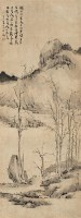 山水 立轴 水墨纸本 - 渐江 - 中国书画(一) - 2007春季拍卖会 -收藏网