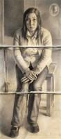 囚 纸本 素描 - 曾传兴 - 油画雕塑 - 2008秋季拍卖会 -收藏网
