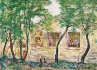 王流秋 风景 纸本油画 - 4279 - 中国油画 - 2006秋季艺术品拍卖会 -收藏网