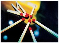 易燃物 布面 油画 - 陈文波 - 中国油画 - 2007春季大型拍卖会 -收藏网