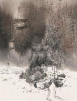 秋雨初霁 立轴 纸本设色 - 孙君良 - 中国书画 - 2006春季拍卖会 -收藏网