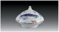 戏水图瓶 - 158246 - 中国当代名家陶瓷 - 2007秋季拍卖会 -中国收藏网