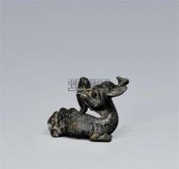 四不像瑞兽镇子 -  - 香云吉金 - 2011春季拍卖会 -中国收藏网