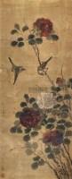 花鸟 立轴 纸本 - 139910 - 中国书画 - 2010迎春节书画精品拍卖会 -中国收藏网