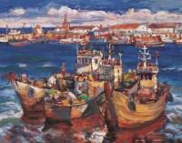 丁涛 远海 布面 油画 - 丁涛 - 中国油画 - 2006年秋季拍卖会 -收藏网