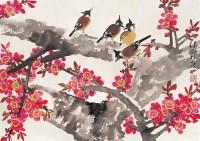 梅雀图 镜心 设色纸本 - 叶绿野 - 中国书画 - 2006秋季拍卖会 -收藏网