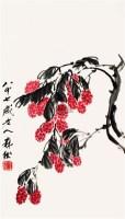 荔枝 镜心 设色纸本 - 134277 - 中国书画一 - 2011首届大型书画精品拍卖会 -收藏网