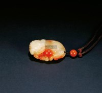 古狮戏球把玩件 -  - 寿山石把玩、雕件专场 - 2011年秋季艺术品拍卖会 -中国收藏网