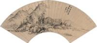 一櫂天涯图 扇面 纸本 - 吴勋 - 中国书画(五) - 嘉德四季第十九期拍卖会 -收藏网