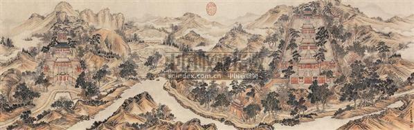 中国清代宫廷书画专场图片