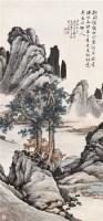 松涧清绝 立轴 设色纸本 - 李上达 - 湖社专场 - 2007年春季拍卖会 -收藏网