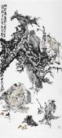 人物 镜心 设色纸本 - 119195 - 当代书画名家精品专场 - 2008春季拍卖会 -收藏网