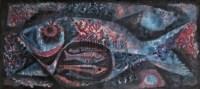 ANG KIU KOK Blue fish -  - 现代及当代东南亚艺术 - 2007春季艺术品拍卖会 -收藏网