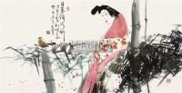 日暮倚修竹 软片 - 5525 - 中国书画 - 2011年春季艺术品拍卖会 -收藏网