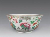 粉彩花卉纹八角碗 -  - 瓷玉珍玩 - 2006年迎春拍卖会 -收藏网